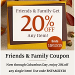Barnes & Noble Coupon: Save 20% Off One Item