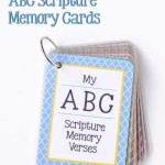 Free Printable ABC Scripture Memory Cards