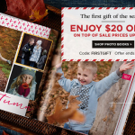 Shutterfly: $20 off $20 Purchase