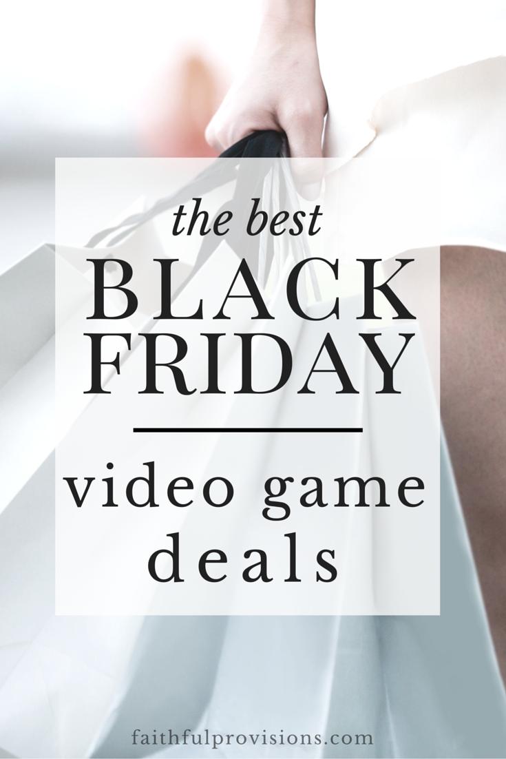 Best Black Friday Video Game Deals