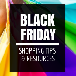 Black Friday Shopping Tips Resources
