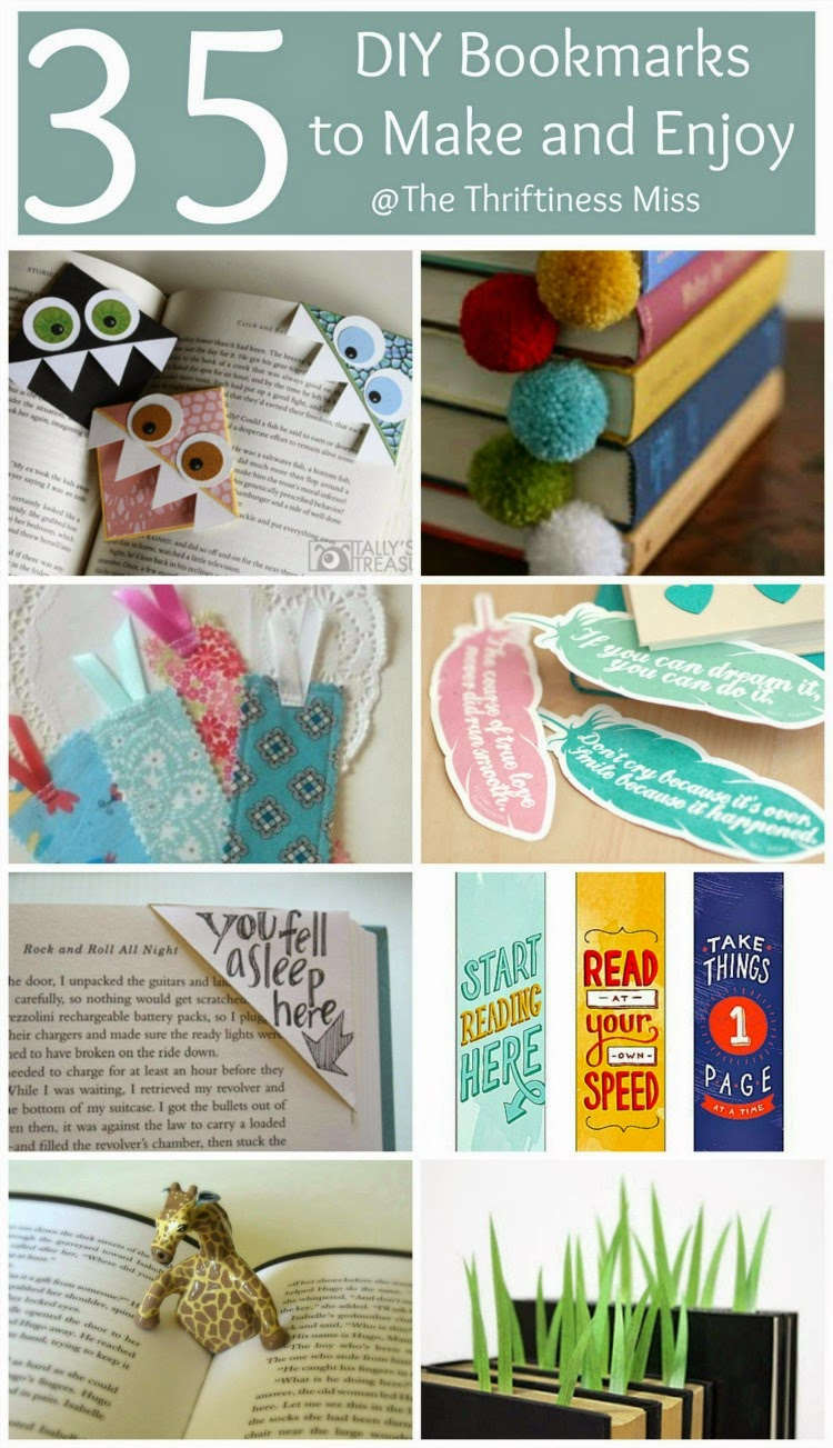 DIY Bookmarks To Make and Enjoy