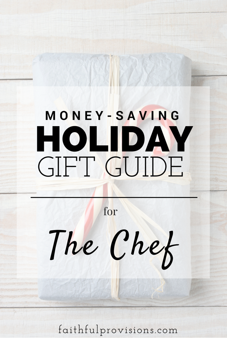 Holiday Gift Guide The Chef