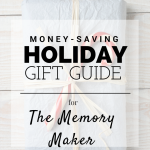 Holiday Gift Guide: The Memory Maker