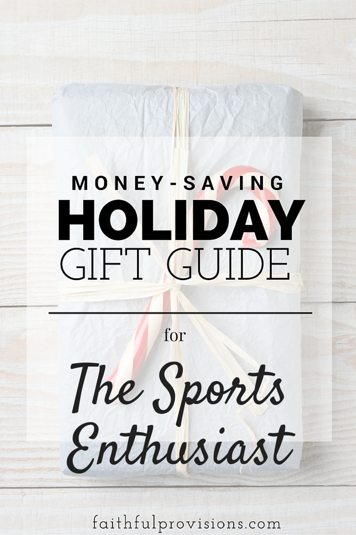 Holiday Gift Guide - The Sports Enthusiast