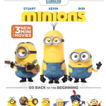 Free Minions Blue-Ray/DVD + Shipping + $5 Target Gift Card (after cash back)