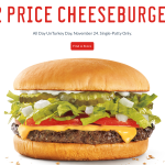 Sonic: Half Price Cheesburgers