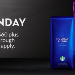 Starbucks Cyber Monday: $25 off $60 Purchase + Free Shipping!!