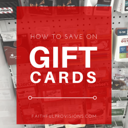 How to Save Big On Gift Cards