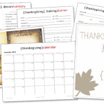 Free Thanksgiving Planner