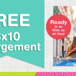 Walgreens: FREE 8×10 Enlargement