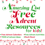 Free Advent Resources for Kids
