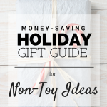 Holiday Gift Guide: Non-Toy Kids Gift Ideas
