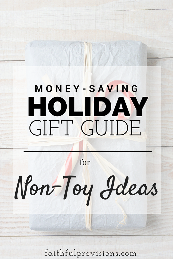 Holiday Gift Guide - Non-Toy Ideas