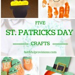 Five St. Patricks Day Crafts Your Kids Will Love