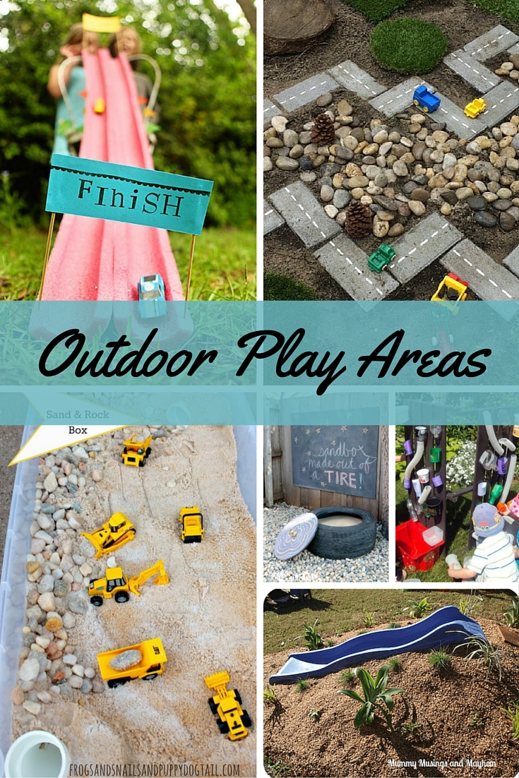 DIY Outdoor Play Areas for Kids - Faithful Provisions