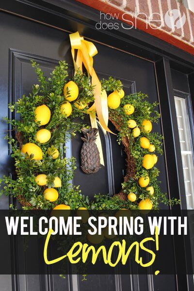 Lemon Wreath