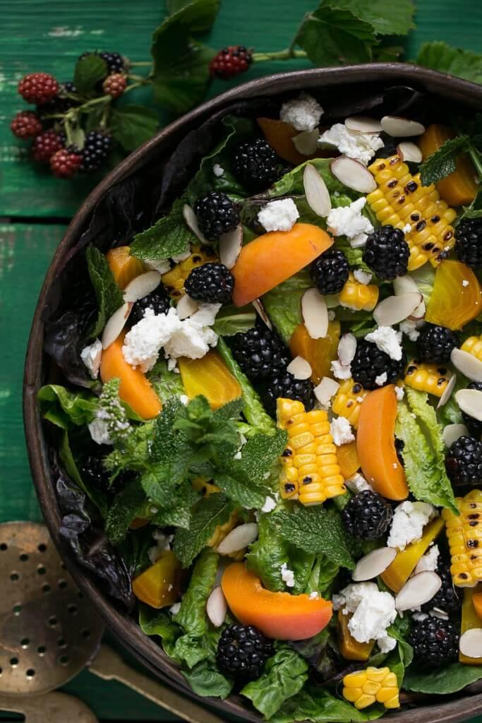 blackberry-salad