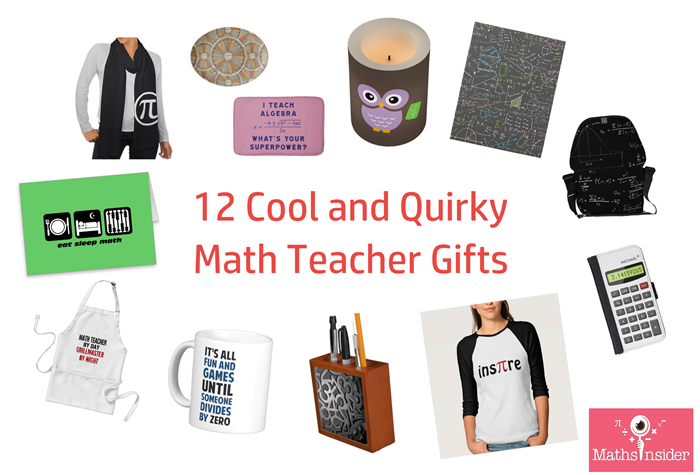 12 Cool And Quirky Math Teacher Gifts