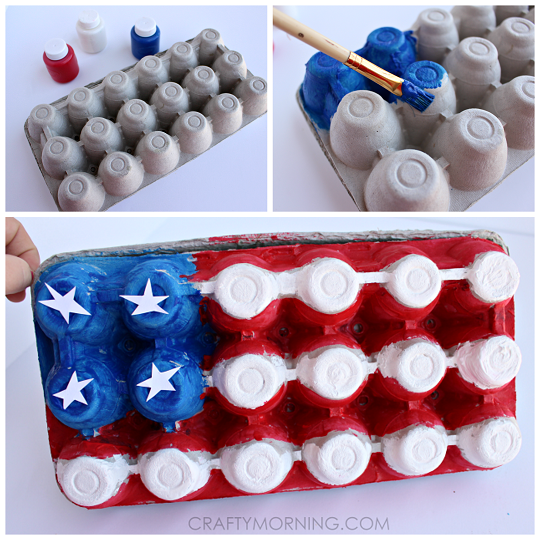 egg-carton-american-flag-kids-craft
