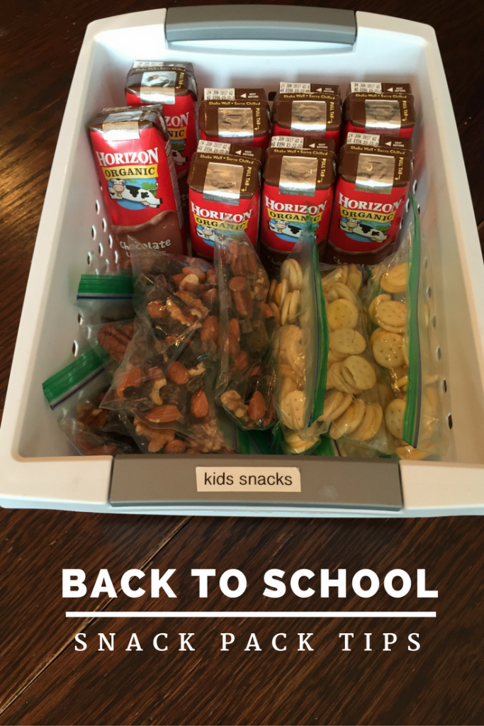 Back to School Snack Packs