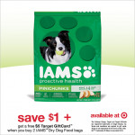 Target $5 Gift Card with IAMS Dog Food Purchase