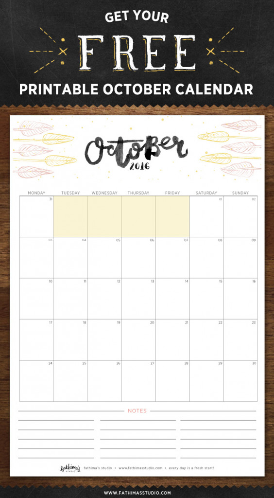 Happiness-is-October-Calendar-2016