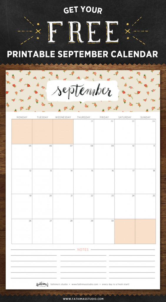 Happiness-is-September-Calendar-2016