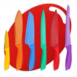 Amazon Deal: Utopia Color-Coded Knife Set + Cutting Board Just $12.99