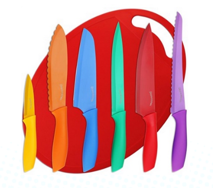 Utopia Color-Coded Knife Set