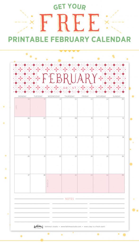 Fathimas-Studio-February-2017-Free-Printable-Calendar
